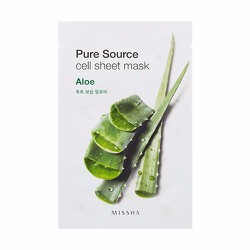 Mặt nạ Pure Source Cell Sheet Mask #Aloe