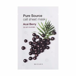 Mặt nạ Pure Source Cell Sheet Mask #Acai Berry