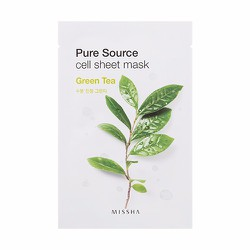 Mặt nạ Pure Source Cell Sheet Mask #Green Tea