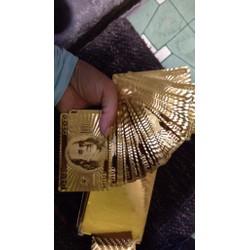Bộ bài vàng mạ vàng