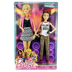 Búp bê Barbie - Bộ 2 chị em Barbie và Chelsea CGF34-B