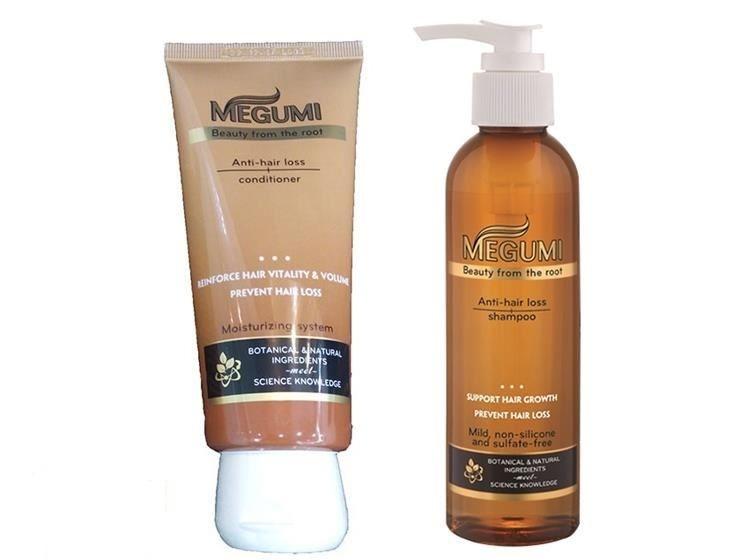 Bộ dầu gội Megumi ngăn ngừa tóc rụng và hỗ trợ mọc tóc 3
