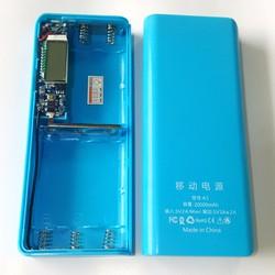 Box sạc 5 cell có LCD