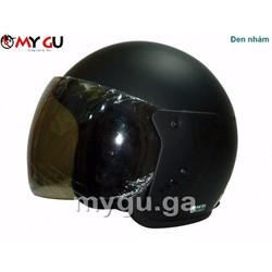 Mũ bảo hiểm cao cấp Safe CT1 - Đen nhám trơn