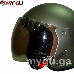 Mũ bảo hiểm cao cấp Safe CT1 - Xám nhám trơn