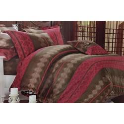 Bộ Drap và ga trải giường giá rẻ đẹp họa tiết Thổ cẩm độc và đẹp TL49