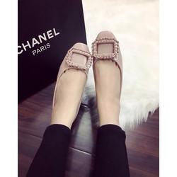 Giày búp bê tag vuông hàng qc full box - G02750