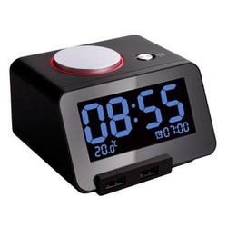 Đồng hồ báo thức kỹ thuật số kiêm cổng sạc USB Homtime C1