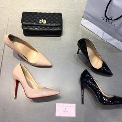 Giày cao gót Louboutin gót đũa 10p