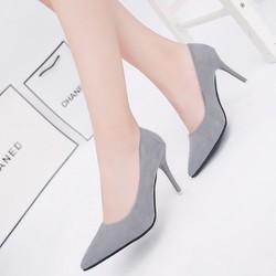 Giày cao gót bít mũi cao cấp - LN1046