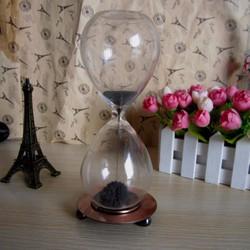 Quà tặng cuộc sống-Đồng hồ cát nở hoa