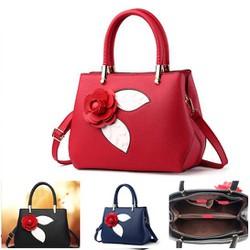 Túi xách thời trang nữ hoa hồng