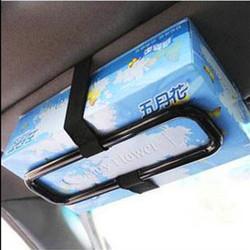 Gá kẹp vật dụng hộp khăn bên trong ô tô
