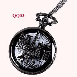 Dây chuyền mặt đồng hồ QQ03