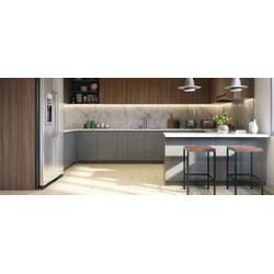 Tủ bếp Laminate hiện đại cho chung cư