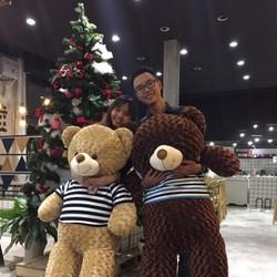Gấu bông teddy 1m6
