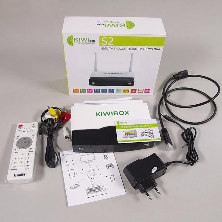 Android TV Box Kiwi S2 chính hãng. 2
