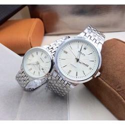 Đồng Hồ Đôi Rolex. Sliver thời trang