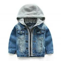 Áo khoac jean bé trai