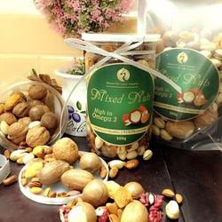Mix các loại hạt dinh dưỡng quà Tết đặc biệt cao cấp - Loại Bịch 500gr