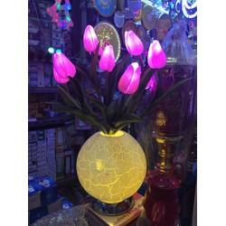 Bình Hoa tulip  điện ngày tết