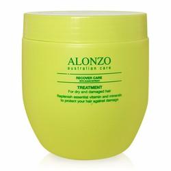 Kem hấp phục hồi tóc khô và hư tổn Alonzo Recover Care 500ml