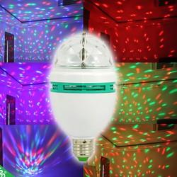 Đèn LED quả cầu xoay  và đuôi xoáy