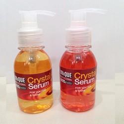 Tinh dầu bóng chữa trị tóc khô chẻ Crystal Serum