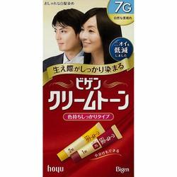 Thuốc nhuộm tóc Nhật Bản Bigen Hoyu 7G - đen tuyền