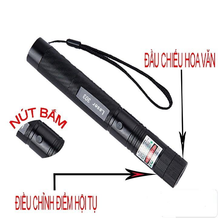 Đèn Pin Tia Laser 303 7