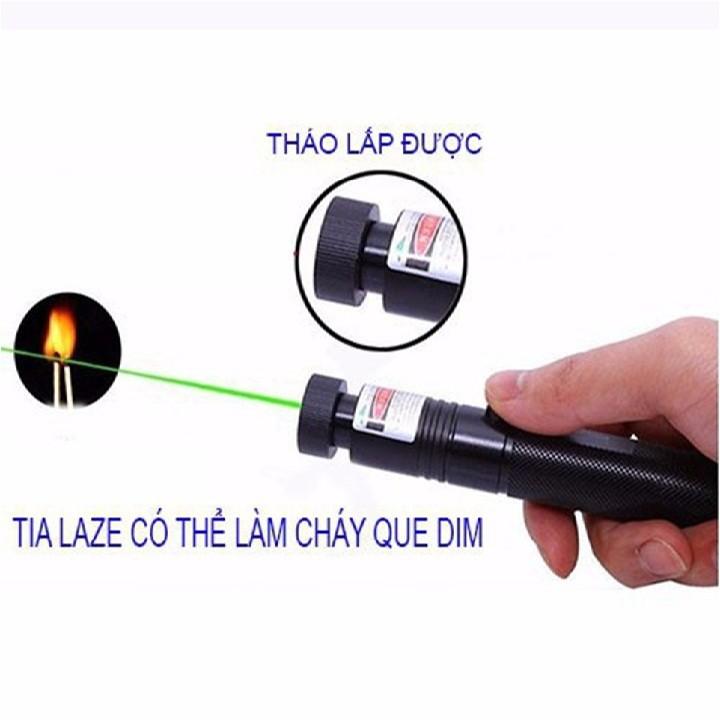 Đèn Pin Tia Laser 303 6