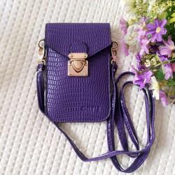 Túi đeo chéo đựng điện thoại màu tím