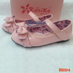 Giày búp bê bé gái kenike hoa