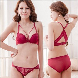 Đồ lót nữ gợi cảm quyến rũ màu đỏ đô DL293