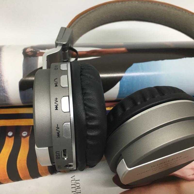 Tai nghe chụp bluetooth QC55 không dây 3