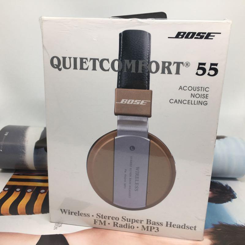 Tai nghe chụp bluetooth QC55 không dây 5