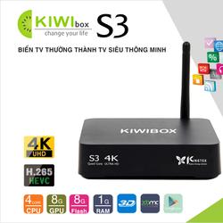 Android TV box Kiwi S3 Chính hãng
