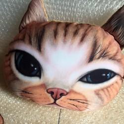 Gối tựa đầu ô tô hình mèo dễ thương