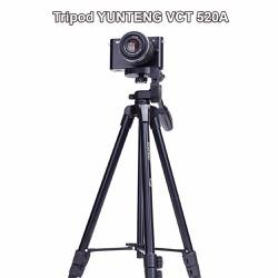 Chân máy ảnh Tripod Yunteng VCT 520A