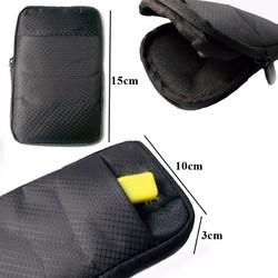 Túi đựng ổ cứng di động-cáp-sạc-tai nghe