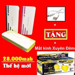 Pin Sạc Dự Phòng Sam-Sung 28000mah Bh 12 tháng