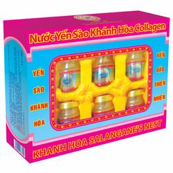 Nước Yến sào Sanest Collagen hộp 6 lọ 70ml
