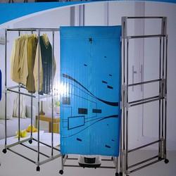 Máy sấy quần áo Nhật Bản 2 tầng, khung gấp gọn -TS3