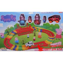 Peppa Pig Toys - Đường Ray Xe Chạy Pin Peppa Pig