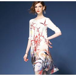 Đầm nữ họa tiết độc đáo DV988