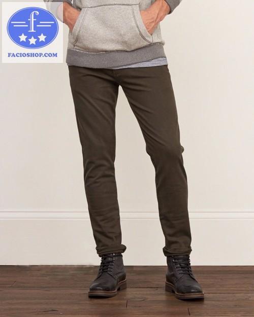 [ Chuyên sỉ - lẻ ] Quần dài kaki nam Facioshop QM178 1