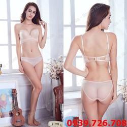 Bộ đồ lót 3 móc dây cách điệu nâng ngực