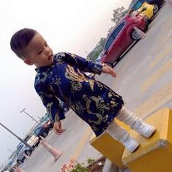 áo dài dành cho bé trai