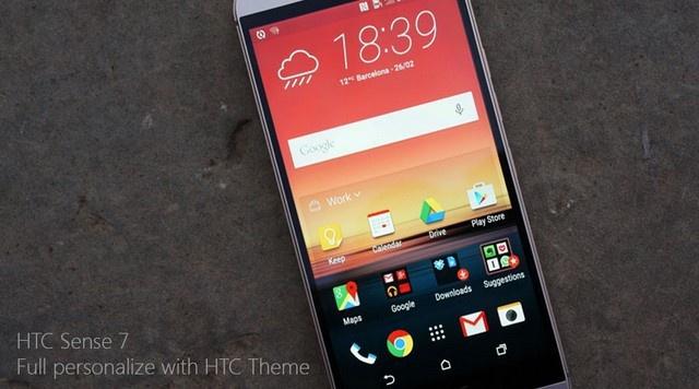 HTC One M9 chính hãng Fullbox 11