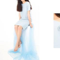 Đầm Suông Dài Tiểu Thư